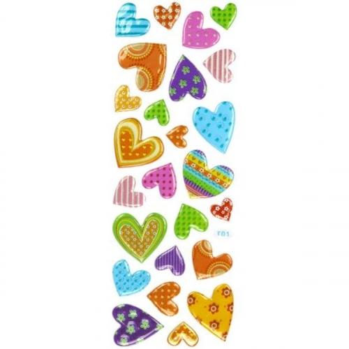 Naklejki do dekoracji serca (359366)