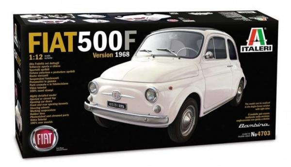 Fiat 500F 1968 Super Photo Etched (4703)