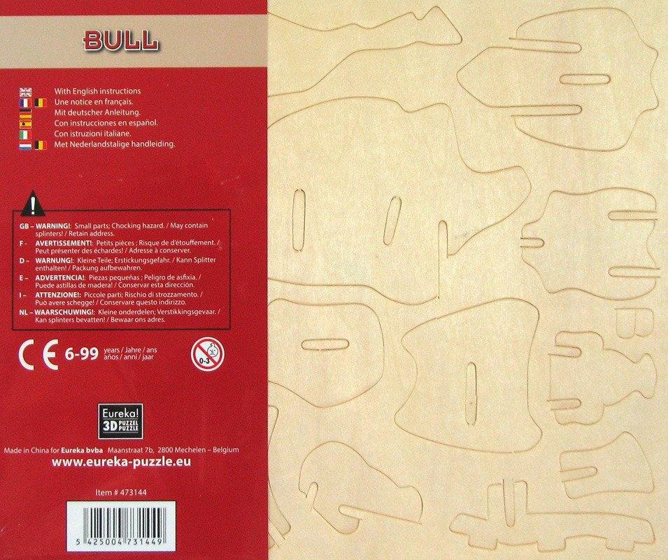 Łamigłówka drewniana Gepetto - Byk (105670)