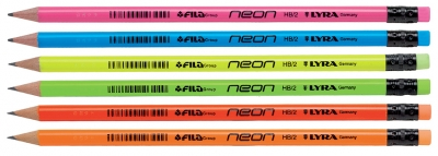 Ołówek Lyra neon HB (1293960) Fila Polska
