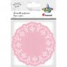 Serwetki papierowe okrągłe 11,5cm/35 szt. - różowe jasne (414542)