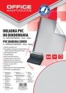 Okładka do bindowania Office Products A4 PVC 100 sztuk szara/transparentna (Nr