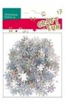 Ozdoba dekoracyjna confetti płatki śniegu 30g