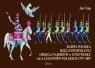 Barwa Wojska Rzeczypospolitej Obojga Narodów w XVIII wieku oraz Legionów Polskich 1797-1807