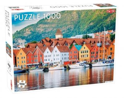 Puzzle Bergen Harbour 1000