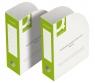 Pudełko do archiwizacji dokumentów Q-Connect,otwarte 80mm zielone KF15845