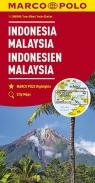 Malezja Indonezja mapa