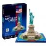 Puzzle 3D: Statua wolności