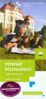 Powiat Poznański mapa turystyczna 1:60 000