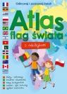 Atlas flag świata z naklejkami praca zbiorowa