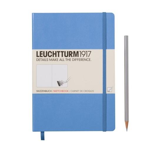 Szkicownik Medium Leuchtturm1917 gładki chabrowy 344666