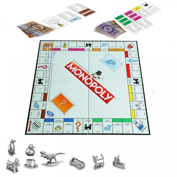 Monopoly Classic - nowe pionki! (C10091200)