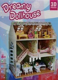 Puzzle 3D: Domek dla lalek