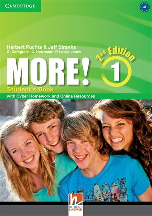 More! Level 1 Student's Book with Cyber Homework and Online Resources Puchta Herbert, Stranks Jeff, Gerngross G., Holzmann C., Lewis-Jones P.