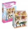 Puzzle 3D: Domek dla lalek - Dreamy Dollhouse (306-20645)