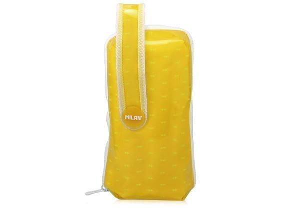 Multipiórnik, saszetka owalny Look żółty MILAN