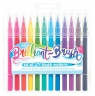 Flamastry pędzelkowe Brilliant Brush 24 kolory