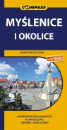 Myślenice i okolice Mapa turystyczna 1:40 000