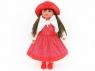 Lalka Adar 60 cm, szyte włosy, z polskim dźwiekiem, śpiewa i mówi po polsku; torba PVC (505452)
