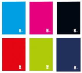 Zeszyt A4/96 kartkowy w kratkę - One Color