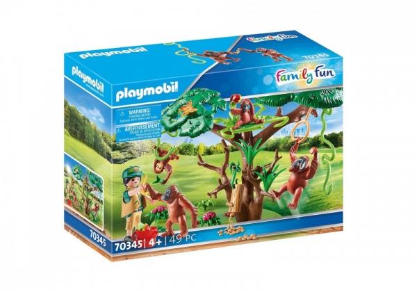 Zestaw figurek Family Fun 70345 Orangutany na drzewie (70345)