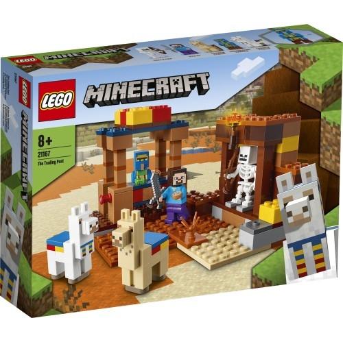 Klocki Minecraft Punkt handlowy (21167)