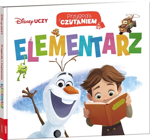 Disney Uczy Przygoda z czytaniem Elementarz (Uszkodzona okładka)
