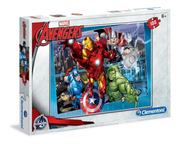 CLEMENTONI 100 EL. Avengers (07245)