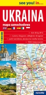 Ukraina 1:1 000 000 mapa samochodowa
