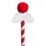 Ołówek z gumką - Wąsy Świąteczne 1szt