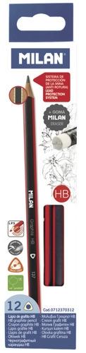 Ołówek Trójkątny HB z gumką