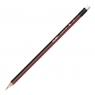 Ołówek Milan trójkątny HB z gumką (0712370312)