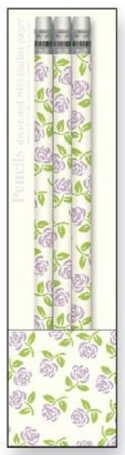 Ołówki ozdobne PST L45 3szt ROSSI