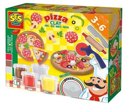 Zestaw ciastolin z z akcesoriami - pizza (00445)