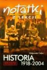 Notatki z lekcji Historia 1918-2004 Ciejka Małgorzata