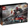 Lego Technic: Furgonetka i motocykl kaskaderski (42106) Wiek: 8+