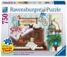 Puzzle 750: Kot na pianinie (16800) (z ułatwieniem dla seniorów)