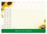 Kalendarz 2021 BIUWAR mały z listwą PCV Słonecznik praca zbiorowa