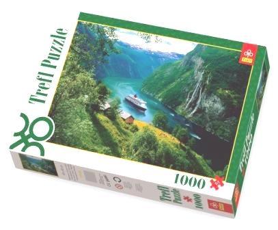 Wodospad - 1000 elementów (10145)