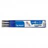 Wkłady do cienkopisu Pilot Frixion Point 0,5mm, 3 szt. - niebieskie (BLS-FRP5-L-S3)