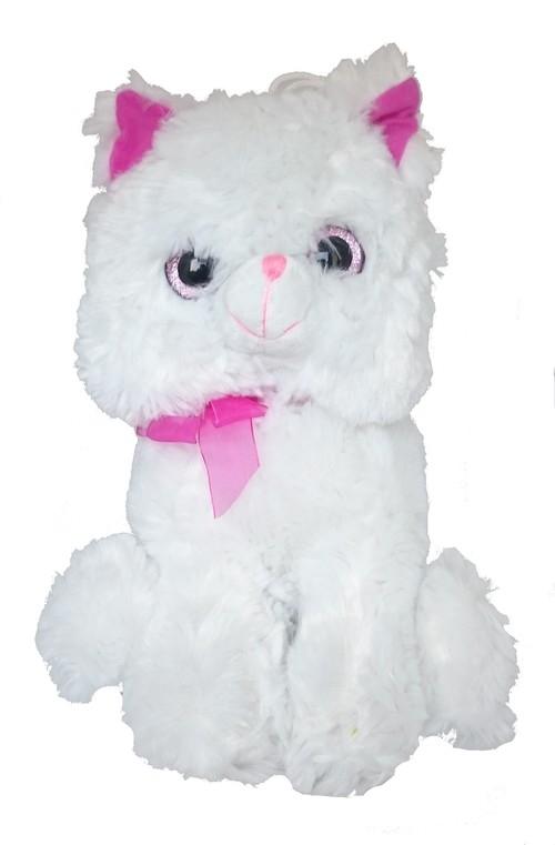 Kot Bazyli biały 30 cm