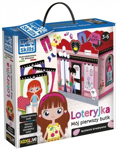 Zabawa i edukacja - Loteryjka - Mój pierwszy butik (304-PL72637)