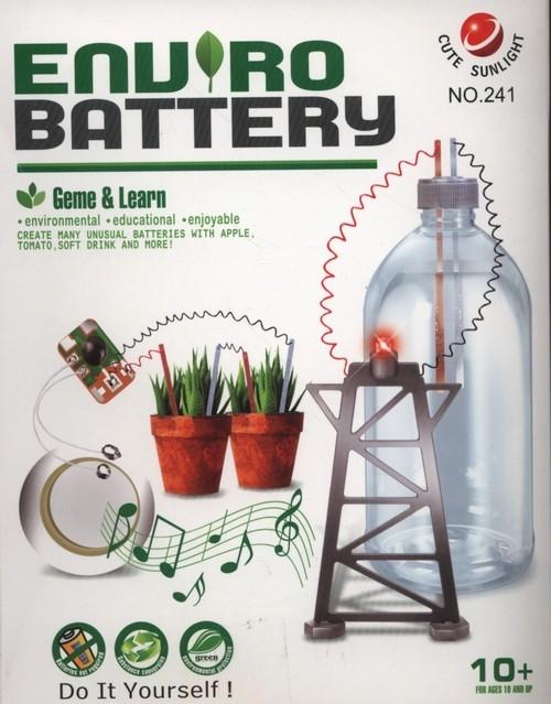 Zestaw kreatywny enviro eko bateria