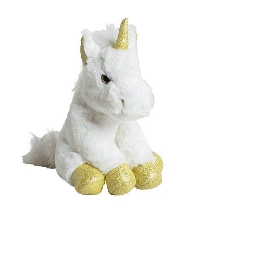 Molli Toys Jednorożec biało-złoty 35 cm (7945)