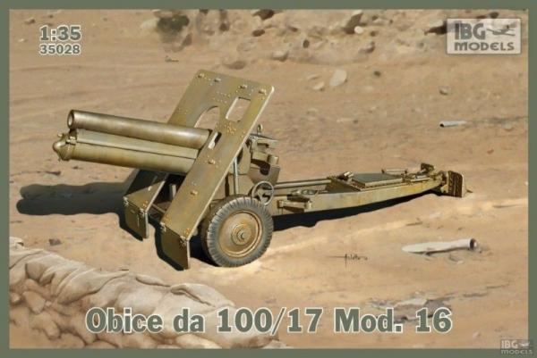 Model do sklejania Obice da 100/17 Mod. 16 Italian version (35028)