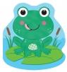 Mała żabka Zabawa w kąpieli Książeczka kąpielowa