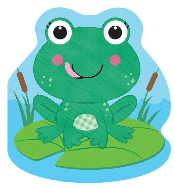 Mała żabka Zabawa w kąpieli