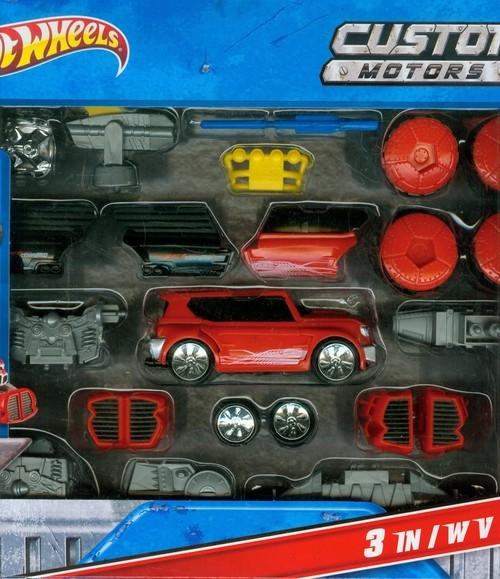Hot Wheels Motoskładaki 3w1