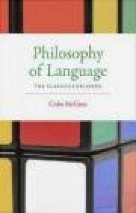 Philosophy of Language Colin McGinn