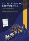 Egzamin Gimnazjalny z matematyki 2016